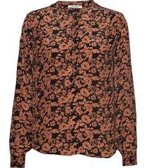 betty shirt blouse lange mouwen oranje nué notes