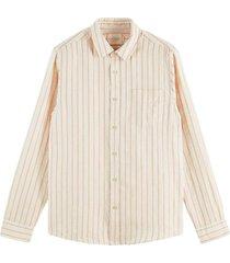 striped linen cotton shirt