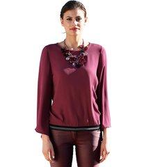 blouse amy vermont bordeaux