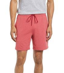 men's vineyard vines men's tie waist knit shorts, size xx-large - red