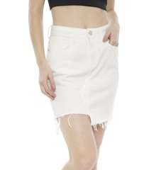 falda colcci crudo - calce ajustado