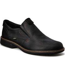 turn loafers låga skor svart ecco