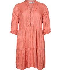 klänning jrgeso 3/4 sl on knee dress