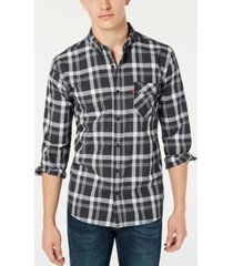 levi's men's reese plaid shirt