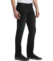 joseph abboud men's black french terry extreme slim fit jeans - size: 28w x 32l