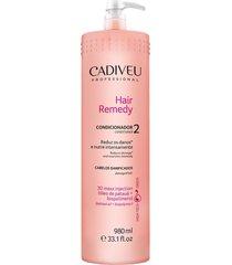condicionador cadiveu cabelos danificados remedy 980ml