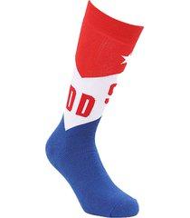 calcetín skm ray socks 8cr rojo diesel