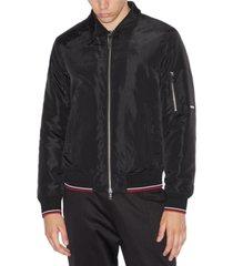 armani exchange men's zip-front blouson jacket