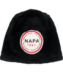 napa by martine rose logo patch hat - black