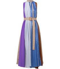 urban elegance dress in muted almond