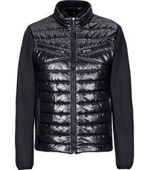 hogan light down jacket black