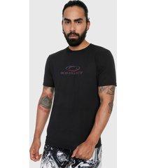 camiseta negro-azul-rojo oakley match ellipse