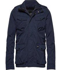 city edition field jacket fodrad jacka blå superdry