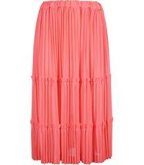 pleated skirt skirt