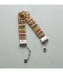 blush and sage bracelet