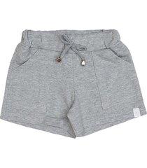 shorts infantil tileesul menina mescla