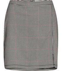skirt mini kort kjol vit hollister