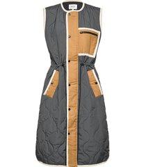 wendy waistcoat vests padded vests beige second female