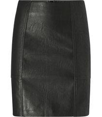 kjol onlsky faux leather skirt