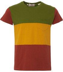 40850-0085 1950's sportswear t-shirt - multi stripe