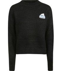 alanui embroidered sweater