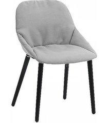 krzesło tapicerowane sofia szare