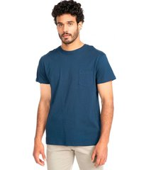 polera jersey cuello redondo navy arrow