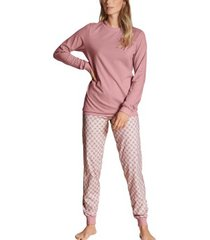 calida lovely nights pyjama with cuff