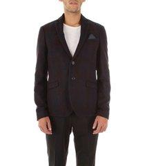 blazer bicolore 1698s-campi