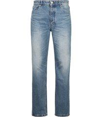 ami alexandre mattiussi 5-pocket straight-leg jeans