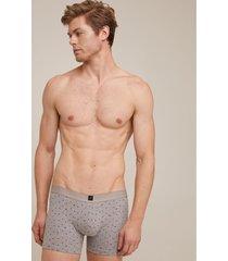 pantaloncillo boxer punto empaque por 2 tela estampada colores surtidos-l
