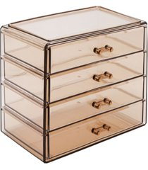 sorbus cosmetic makeup and jewelry storage case display - 4 large drawers