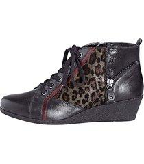 skor caprice svart