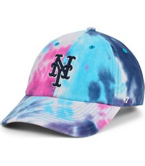 '47 brand women's new york mets tie dye adjustable cap