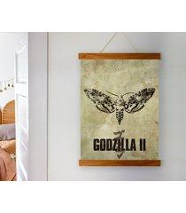 godzilla - plakat 50x70 cm fine art