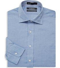 classic-fit chambray dress shirt