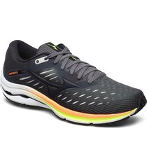 wave rider 24 shoes sport shoes running shoes grå mizuno