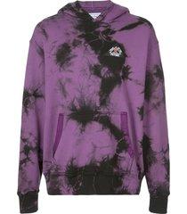 just don tie dye hoodie - purple