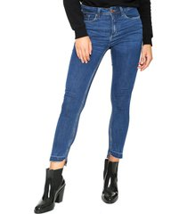 calça jeans calvin klein jeans jegging high azul