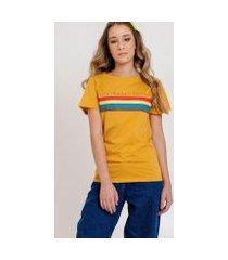 camiseta arco-írissavanna feminina