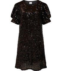 paljettklänning visequin 3/4 short dress