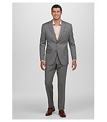 1905 collection tailored fit stripe men's suit - big & tall by jos. a. bank