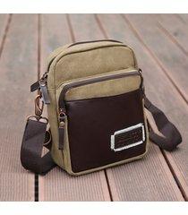 tracolla vintage a grande capacità borsa a tracolla borsa per uomo