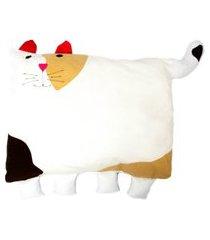 travesseiro colo de mãe de gato travesseiro + fronha bege