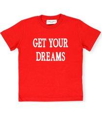 alberta ferretti loged t-shirt