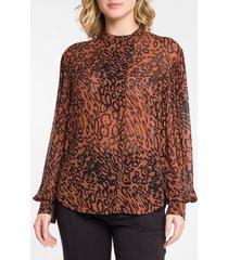 camisa feminina animal print - 36
