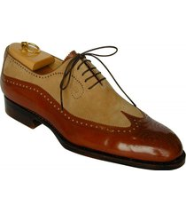 men spectator shoes, men wingtip brogue two tone shoes, men formal dress shoes