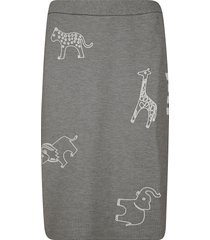 thom browne all-over chain stitch icon skirt