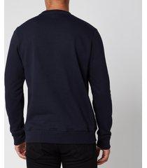 ps paul smith men's zebra logo regular fit sweatshirt - dark navy - xl