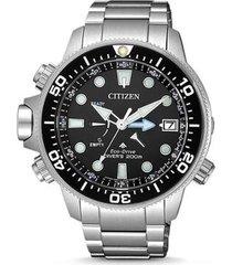 relógio citizen aqualand promaster diver masculino